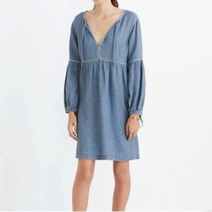 💙 Madewell Peasant Dress 💙